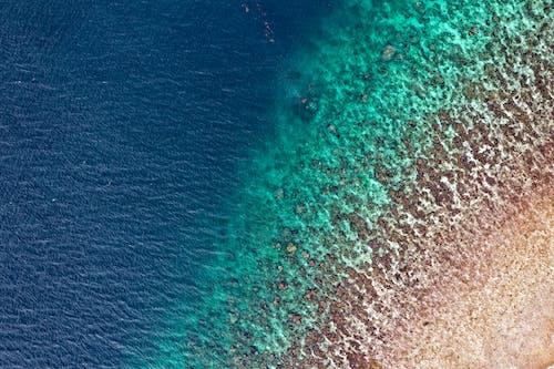 Foto stok gratis air, dari atas, Indonesia, laut