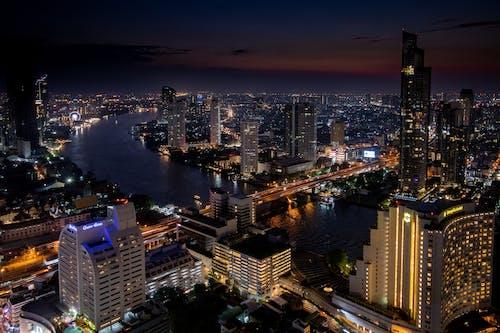 Kostnadsfri bild av bangkok, byggnader, horisont, stadsbild