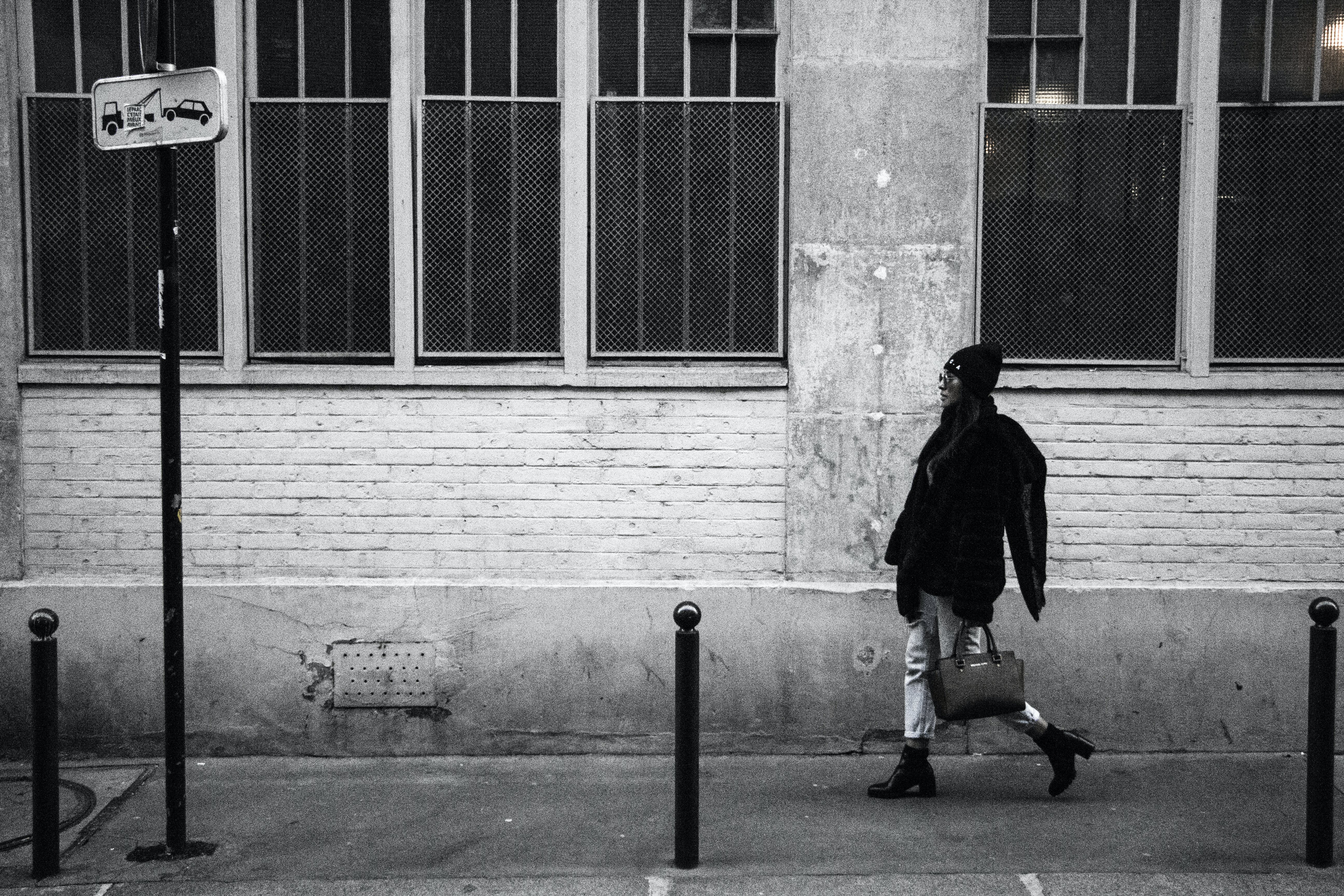 Free stock photo of black and white, fashion photography, front, paris