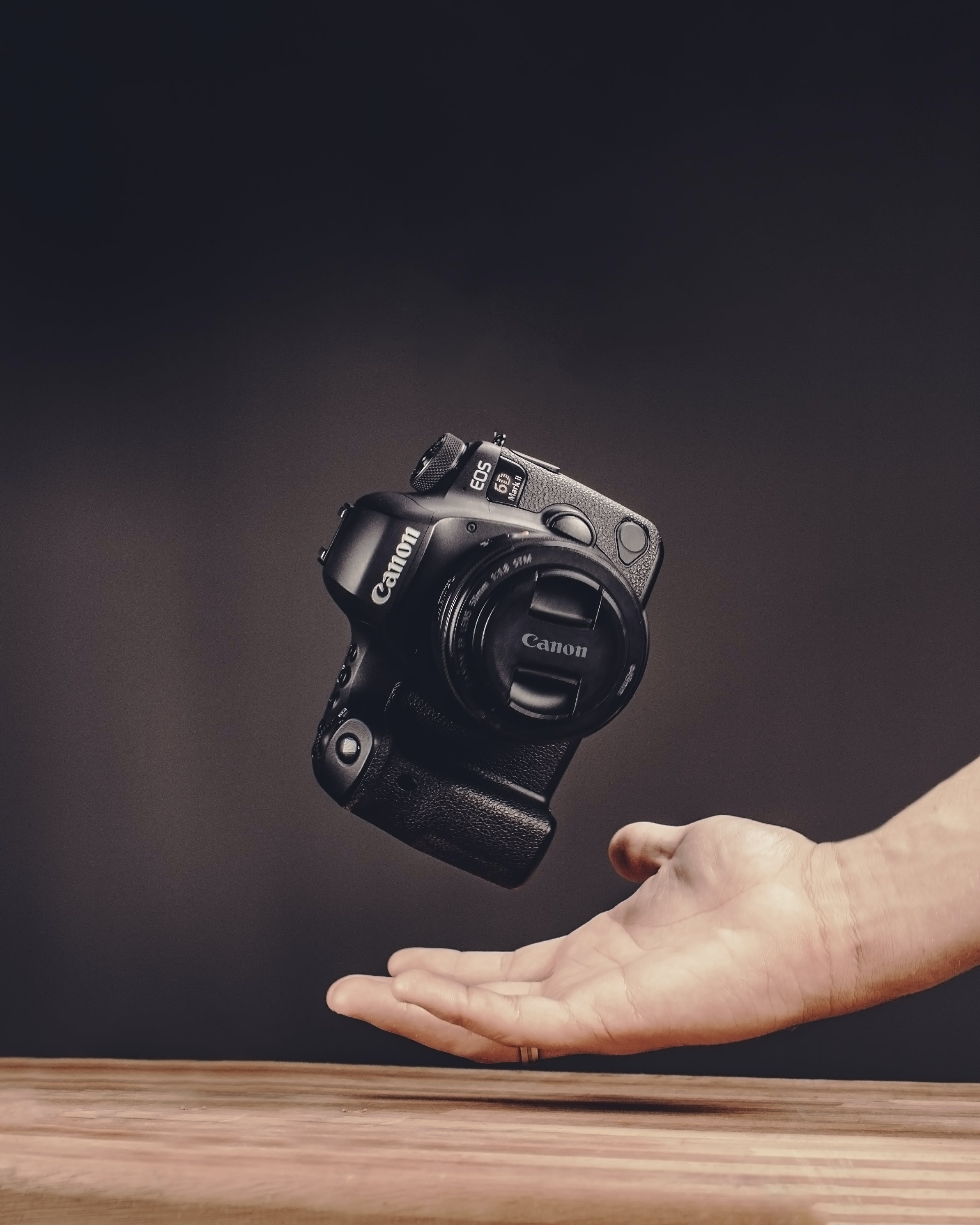 Photo of Person Catching Camera