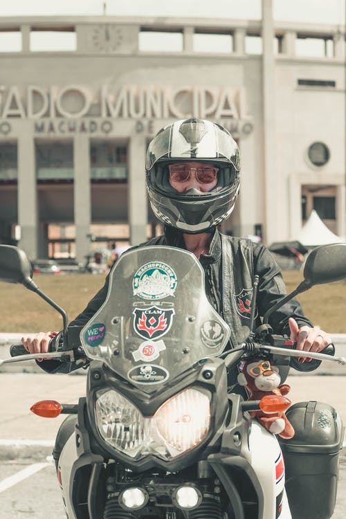 aventura, dona, moto