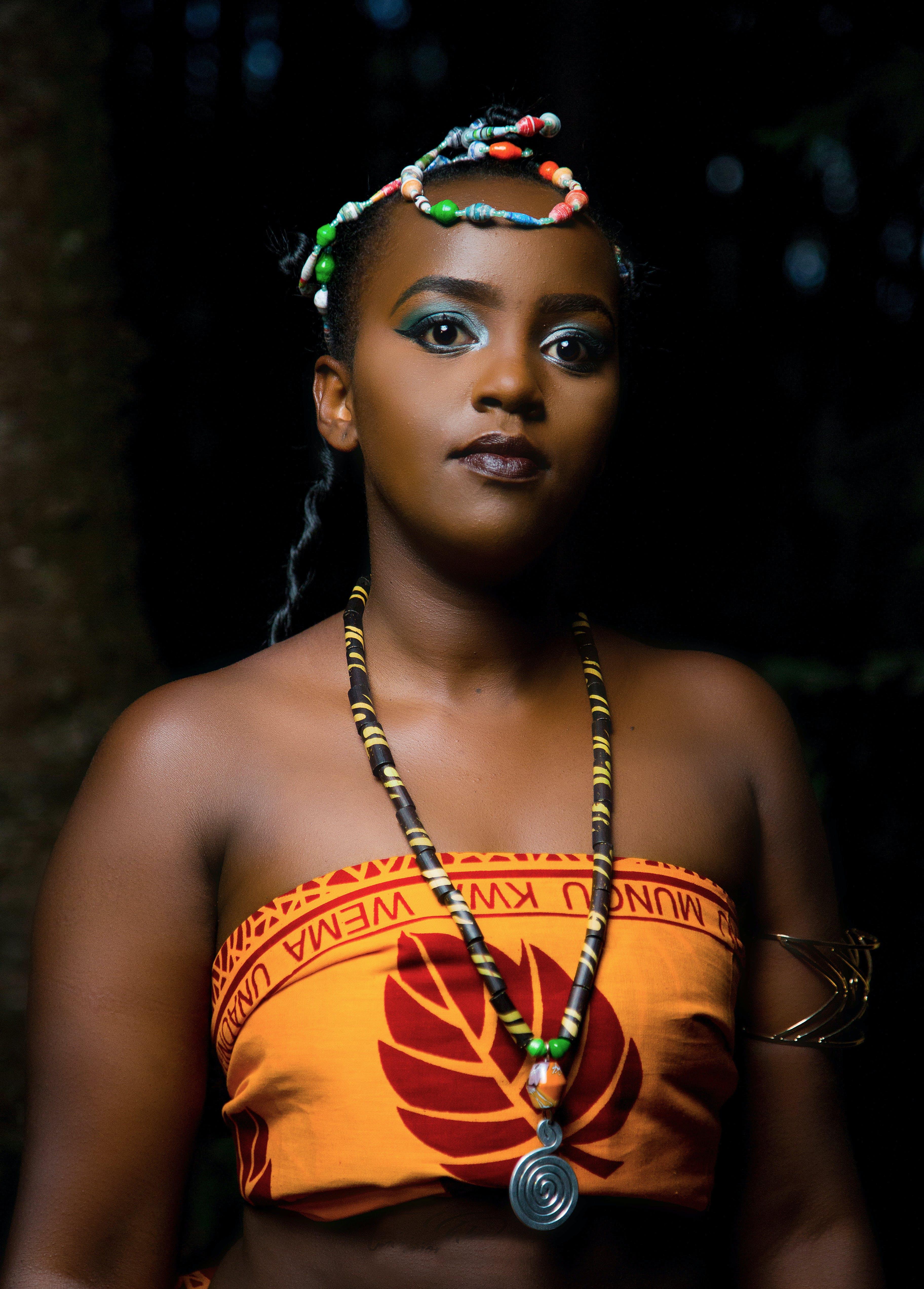 Photo of Woman Wearing Traditional Wear
