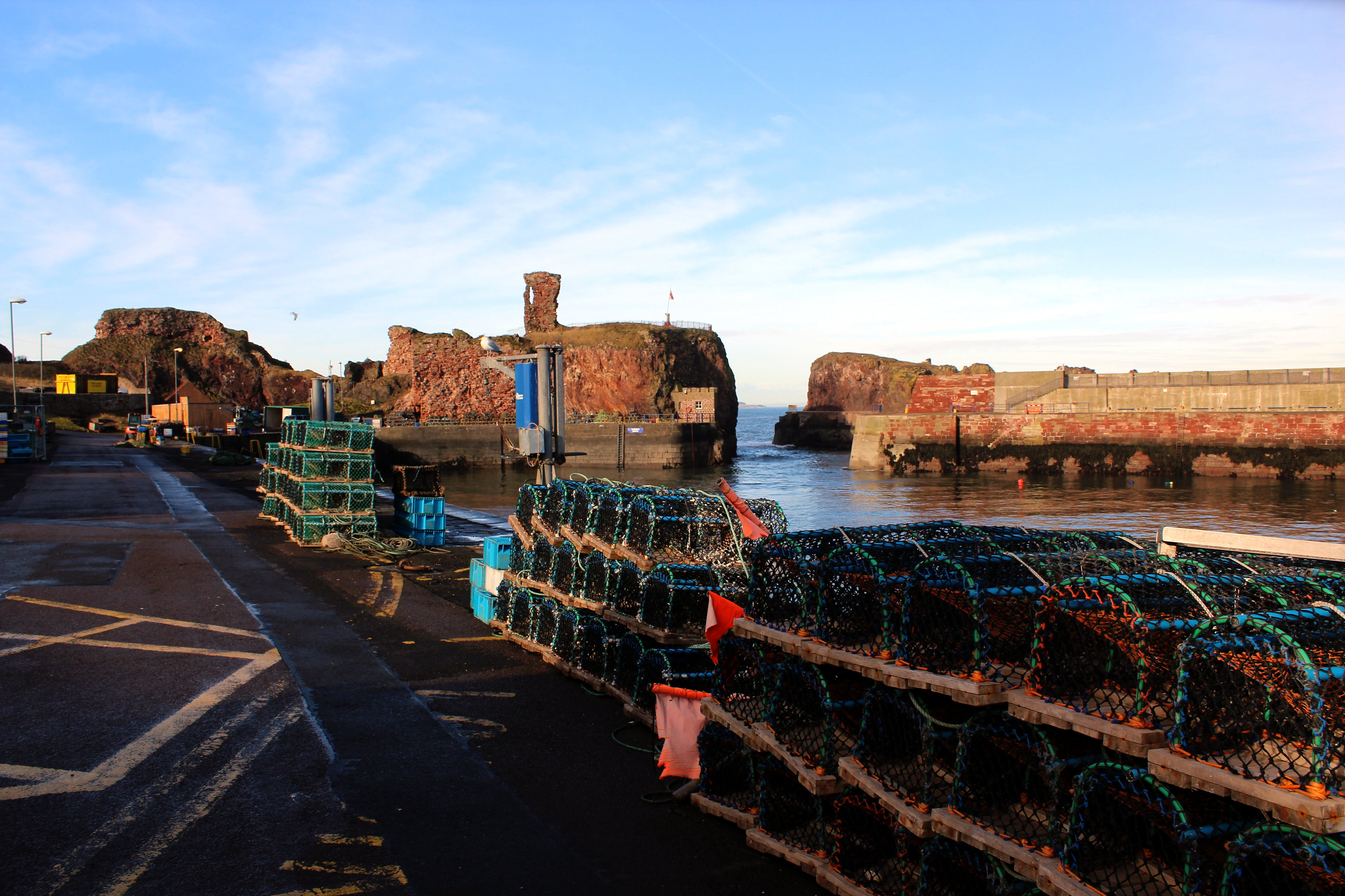 Free stock photo of dunbar castle, harbour gate, johny rebel photography bathgate, rebel panda