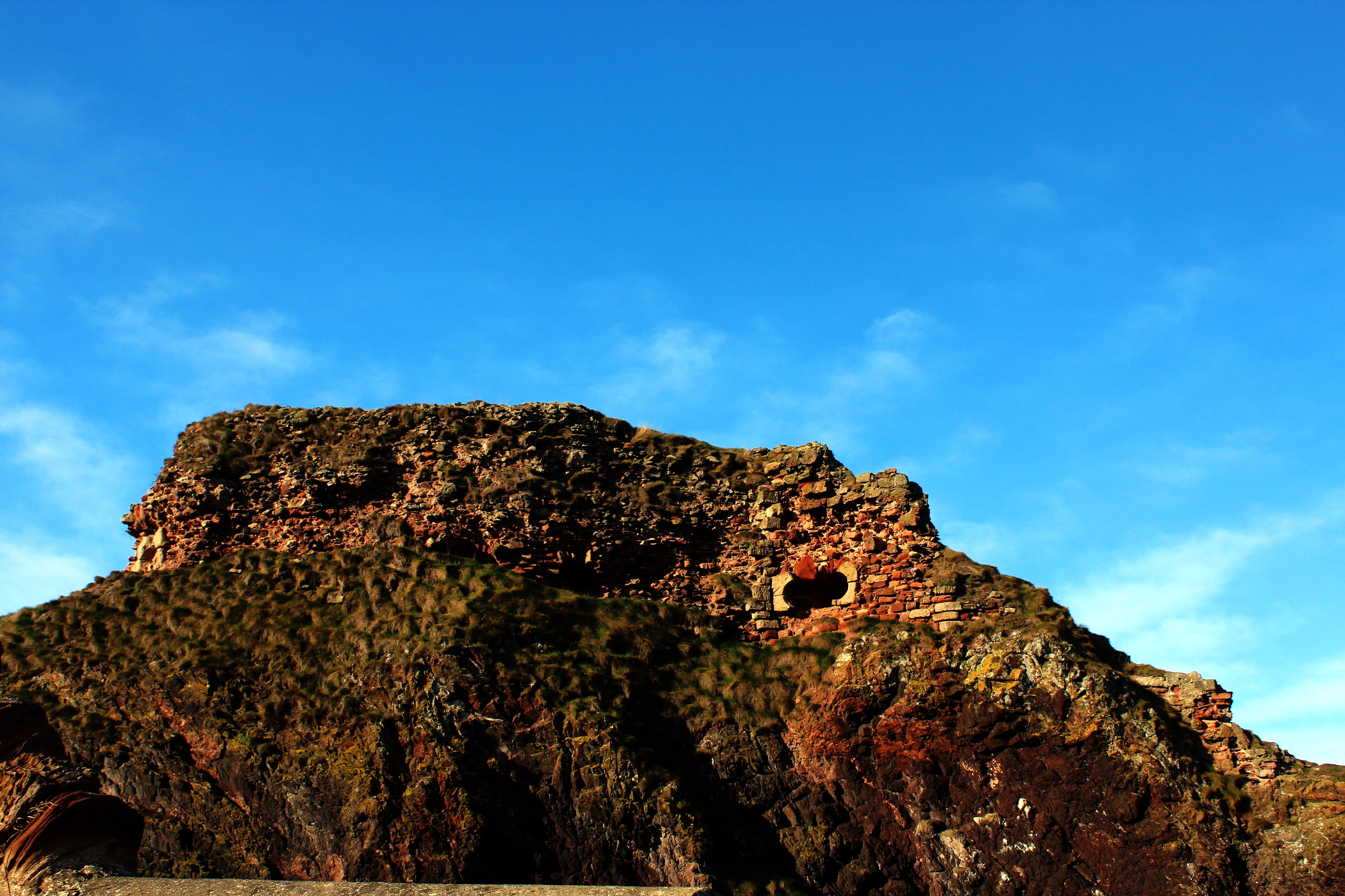 Free stock photo of dunbar castle, medieval, rebel panda, sky