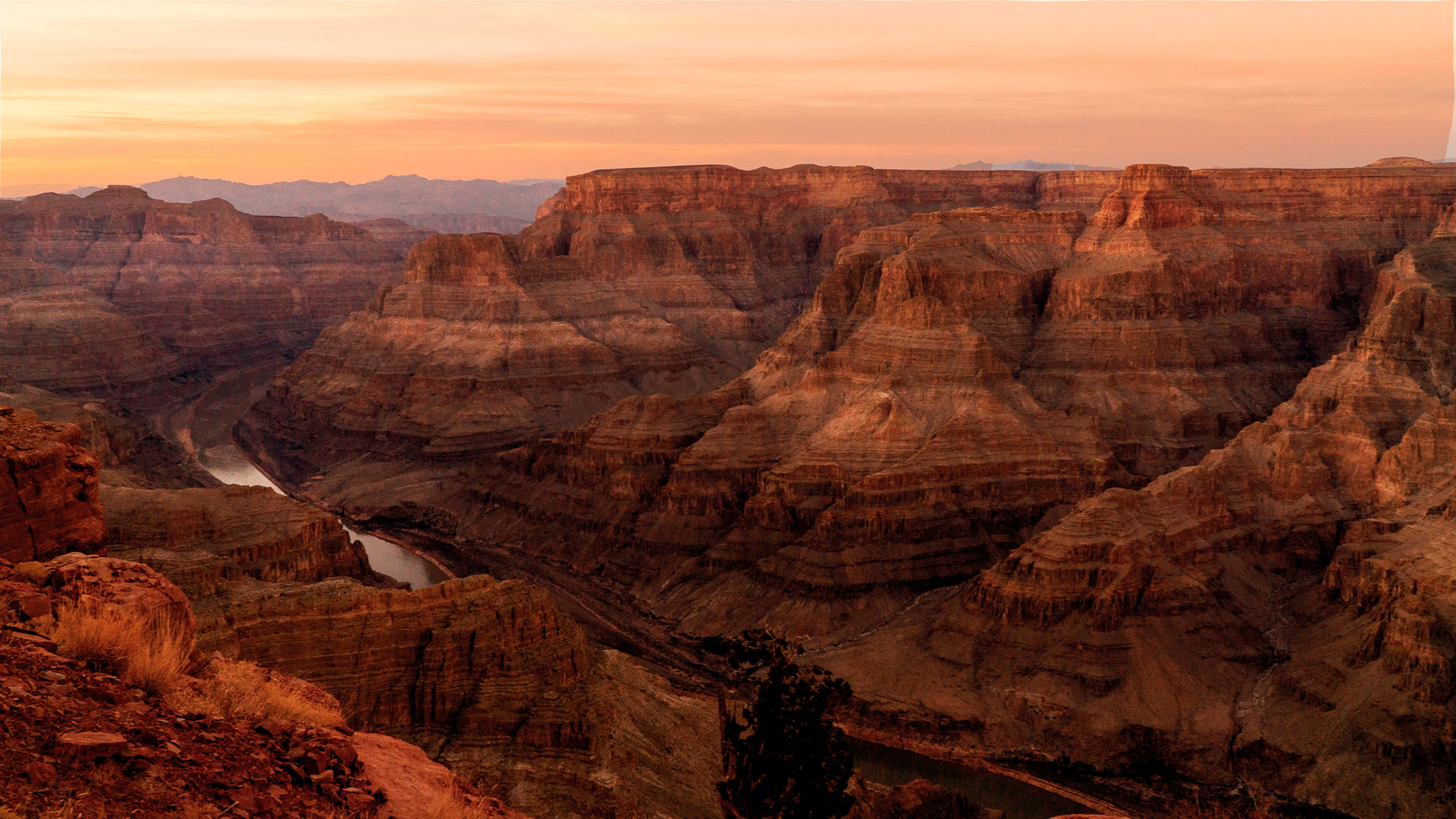 Kostenloses Stock Foto zu bildschirm, canyon, goldene sonne, grand canyon