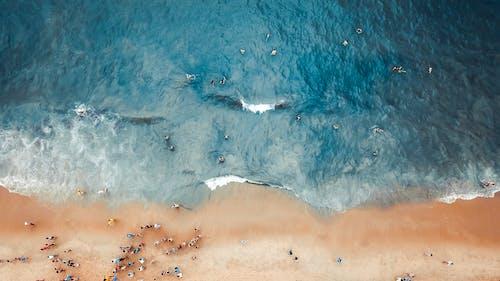 Foto stok gratis air, cairan, fotografi drone, fotografi udara
