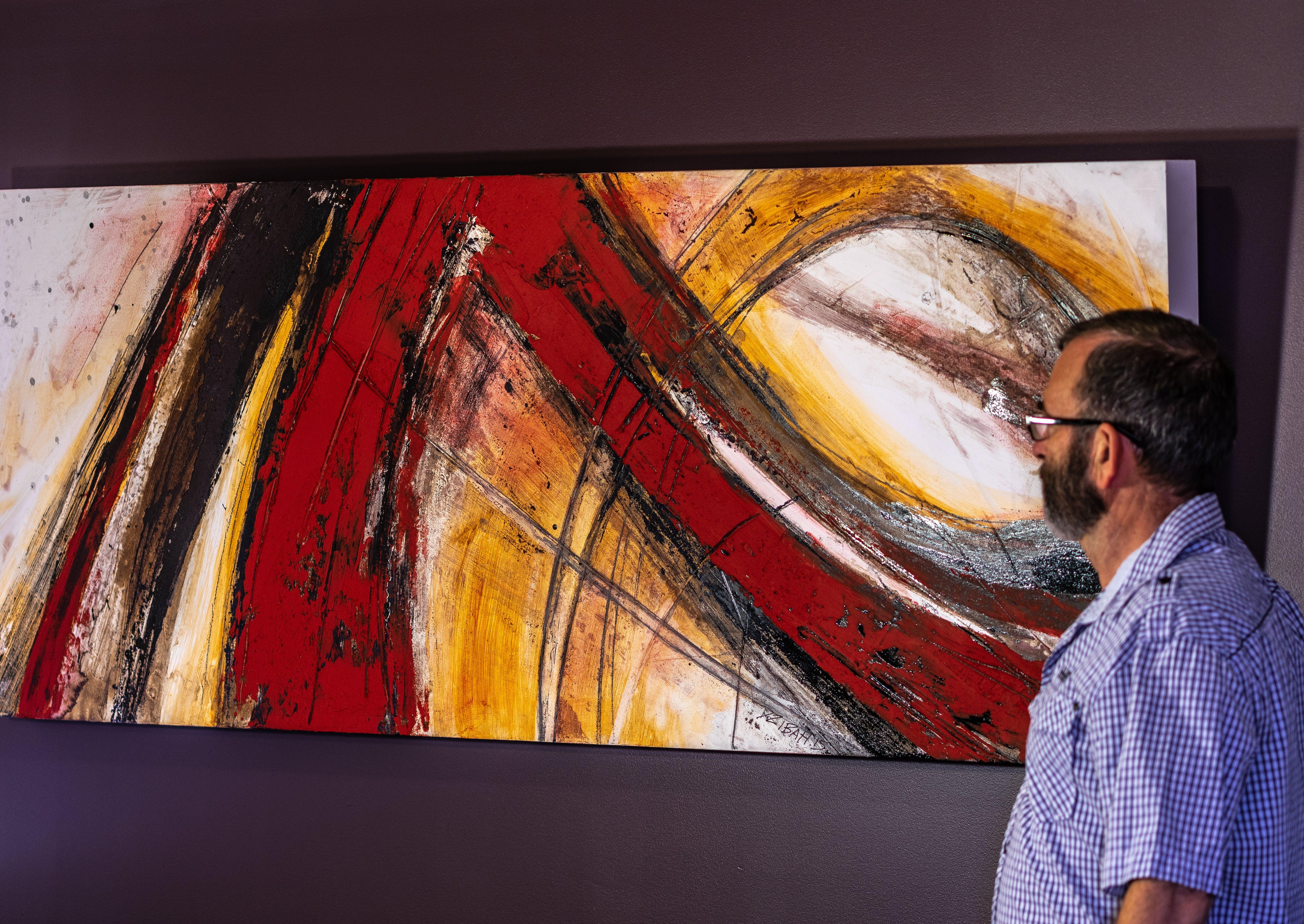 Free stock photo of art, dark background, interesting, large painting