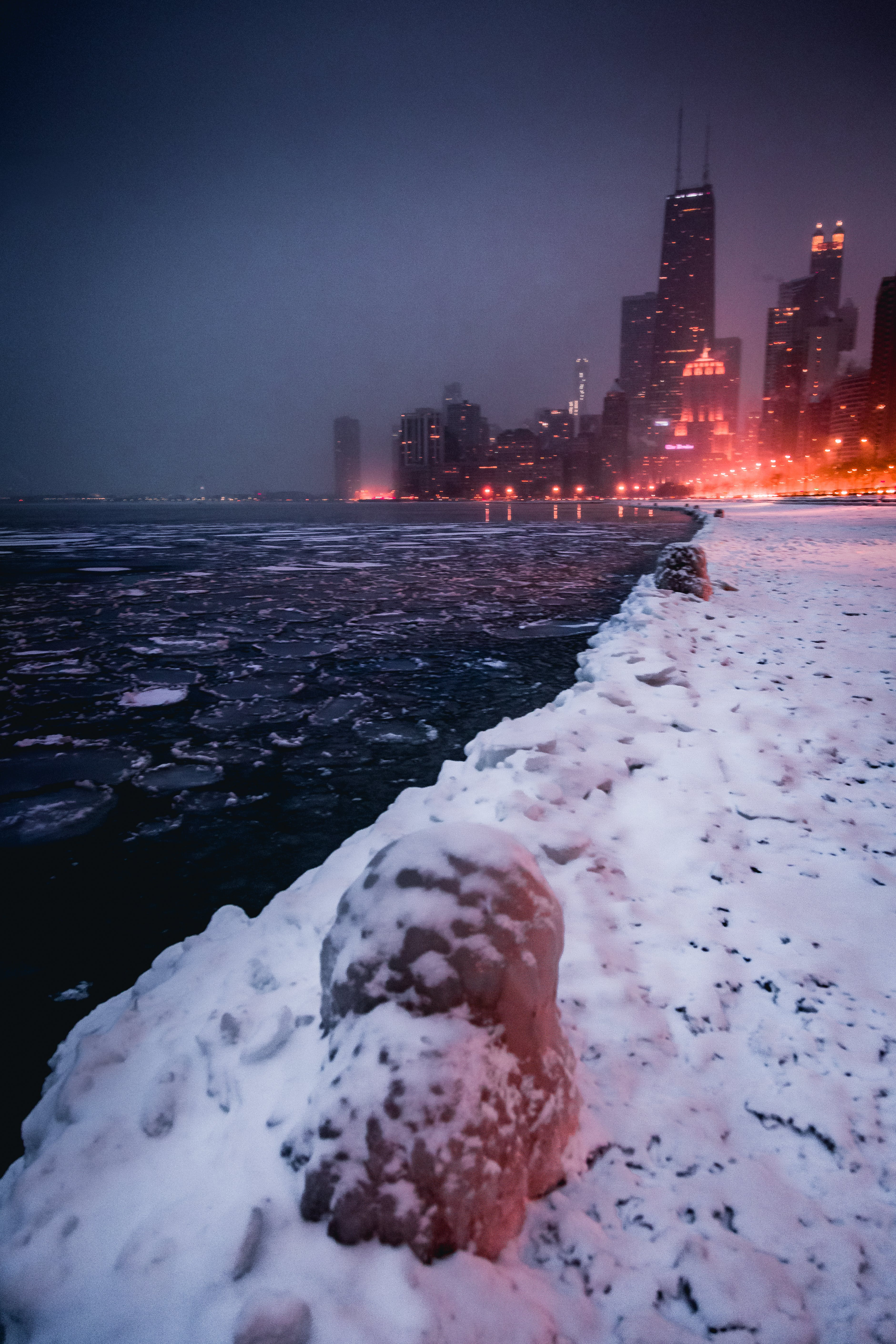 Free stock photo of #chicago #winter #snow