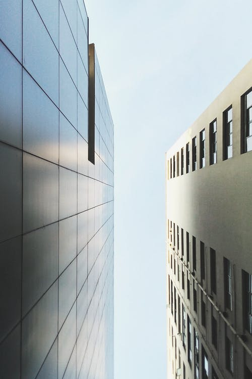 Gray High-rise Buildings