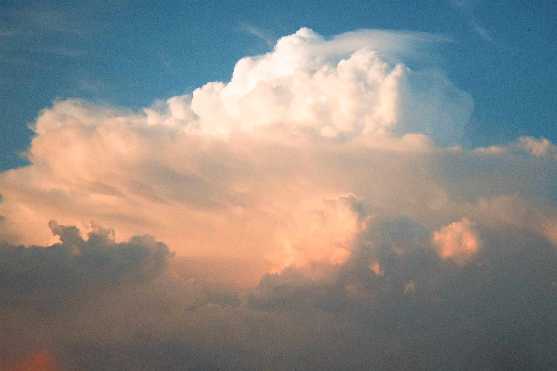 Immagine gratuita di bellissimo, Buongiorno, cielo azzurro, cloud