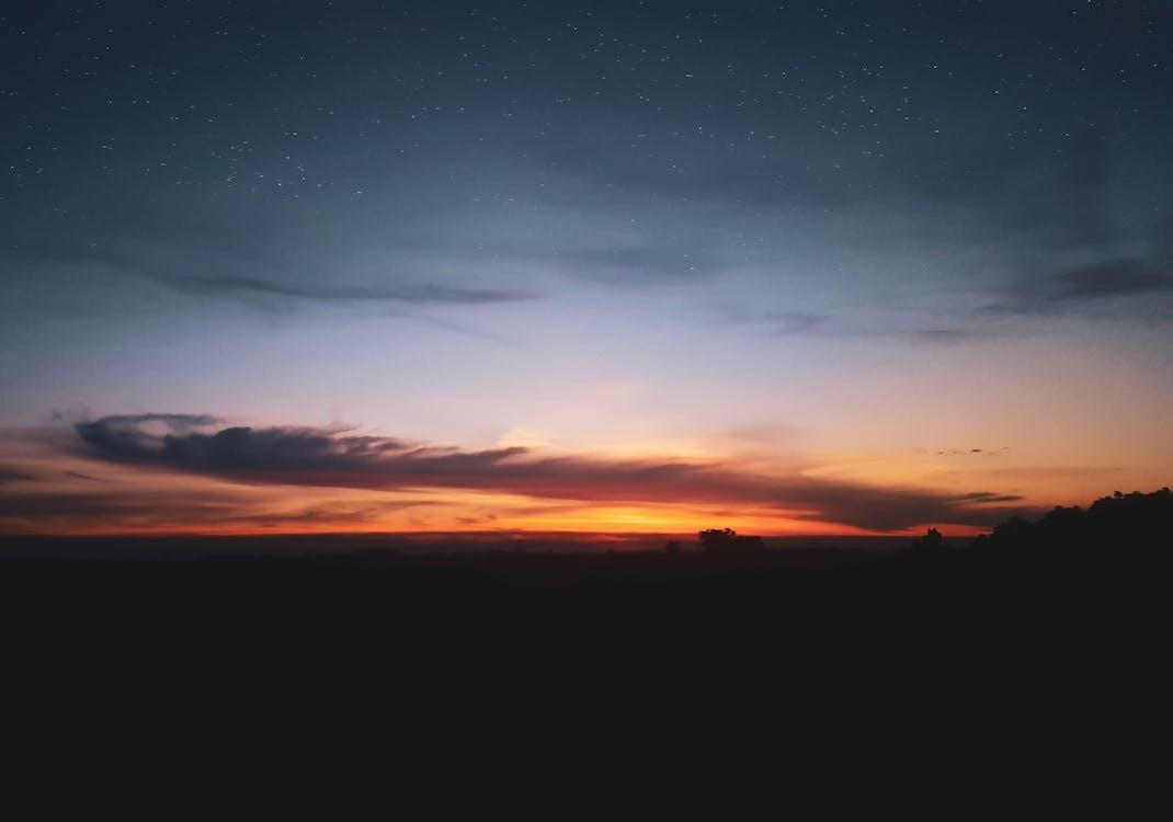 4k-baggrund, aften, fredelig