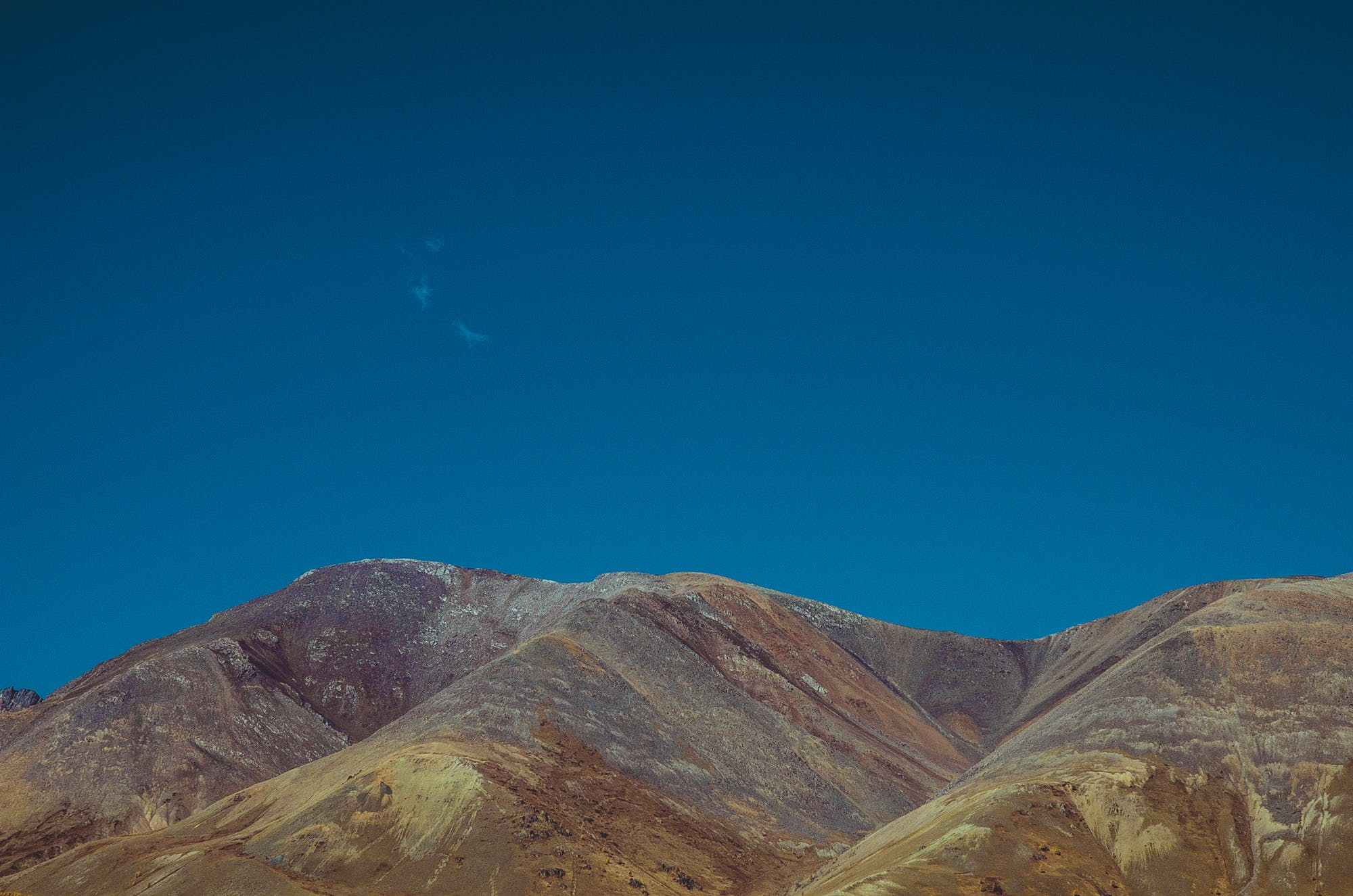 Free stock photo of синий, горы, голубое небо, небо
