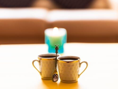 Gratis lagerfoto af guld, kaffe, Romance, sort kaffe