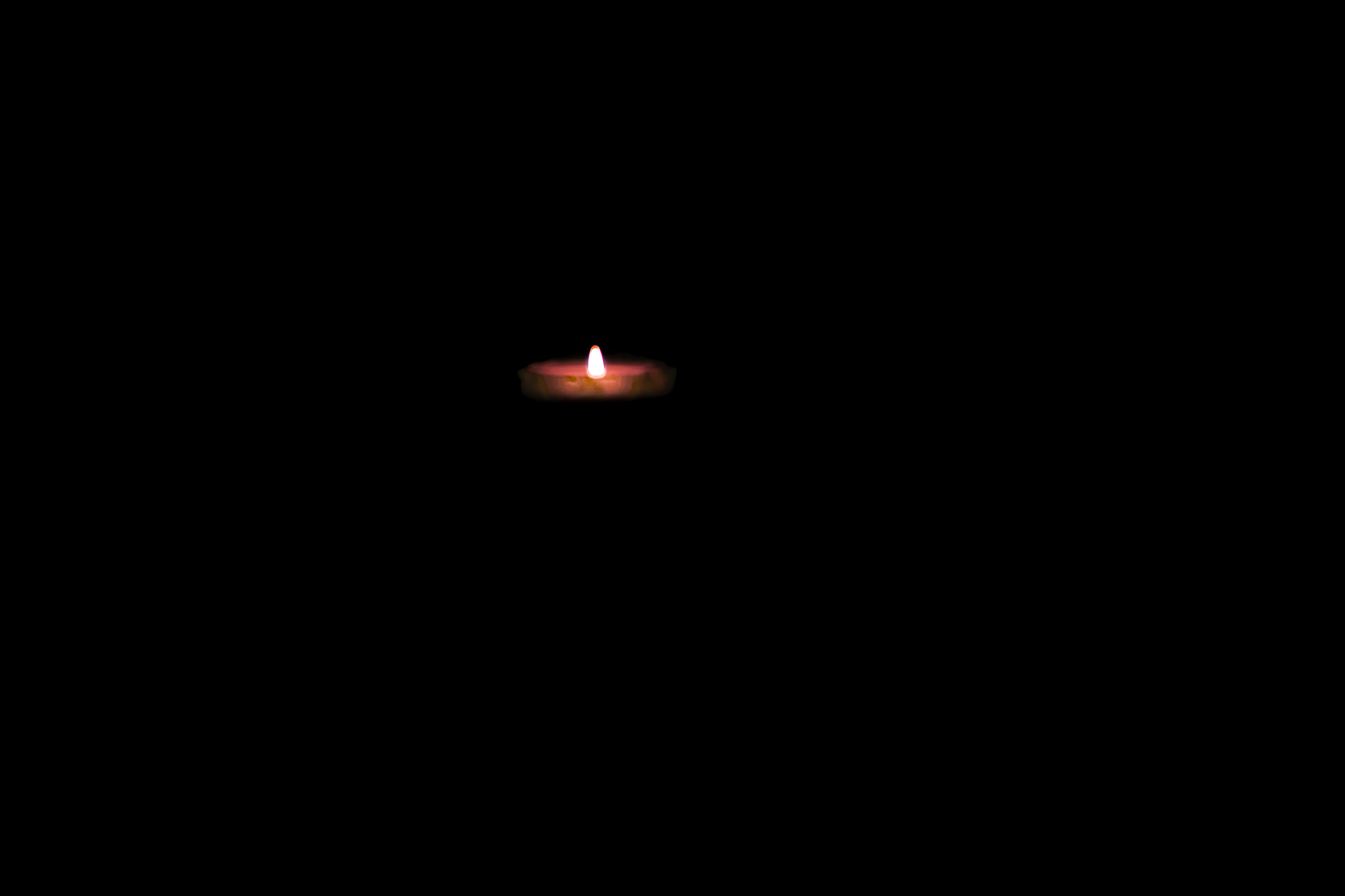 Free stock photo of black background, candle flame, candle light, dark background