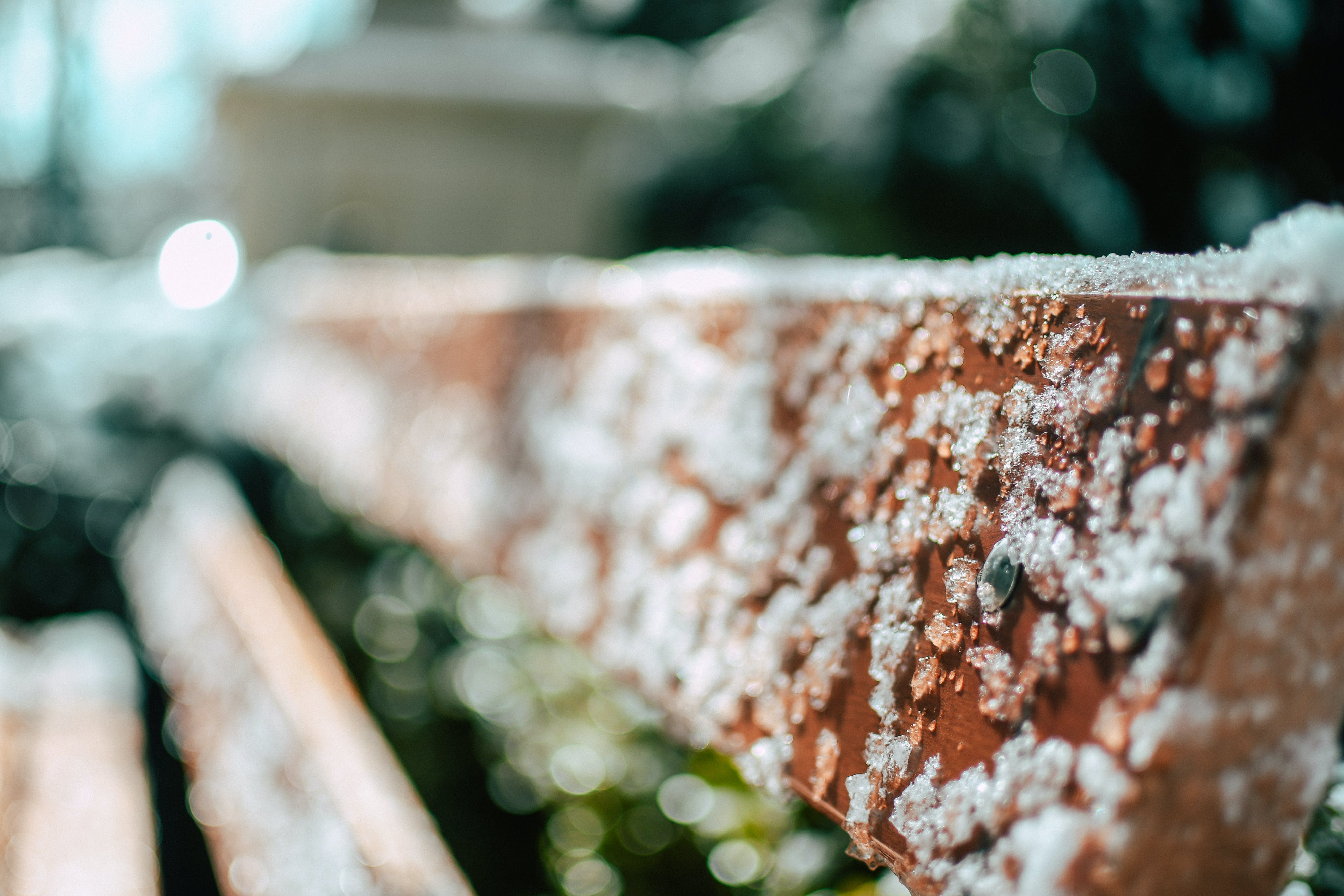 Free stock photo of bench, benches, focus