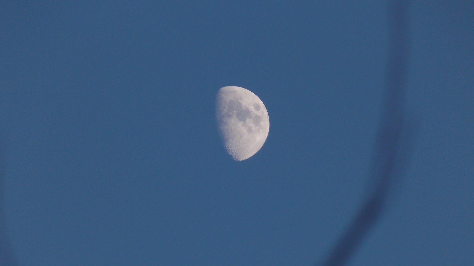 Free stock photo of moon