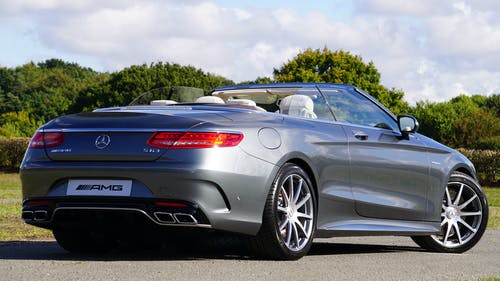 Gray Mercedes-benz Slk Amg