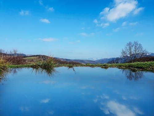 Foto stok gratis air biru, lansekap, pemandangan musim dingin
