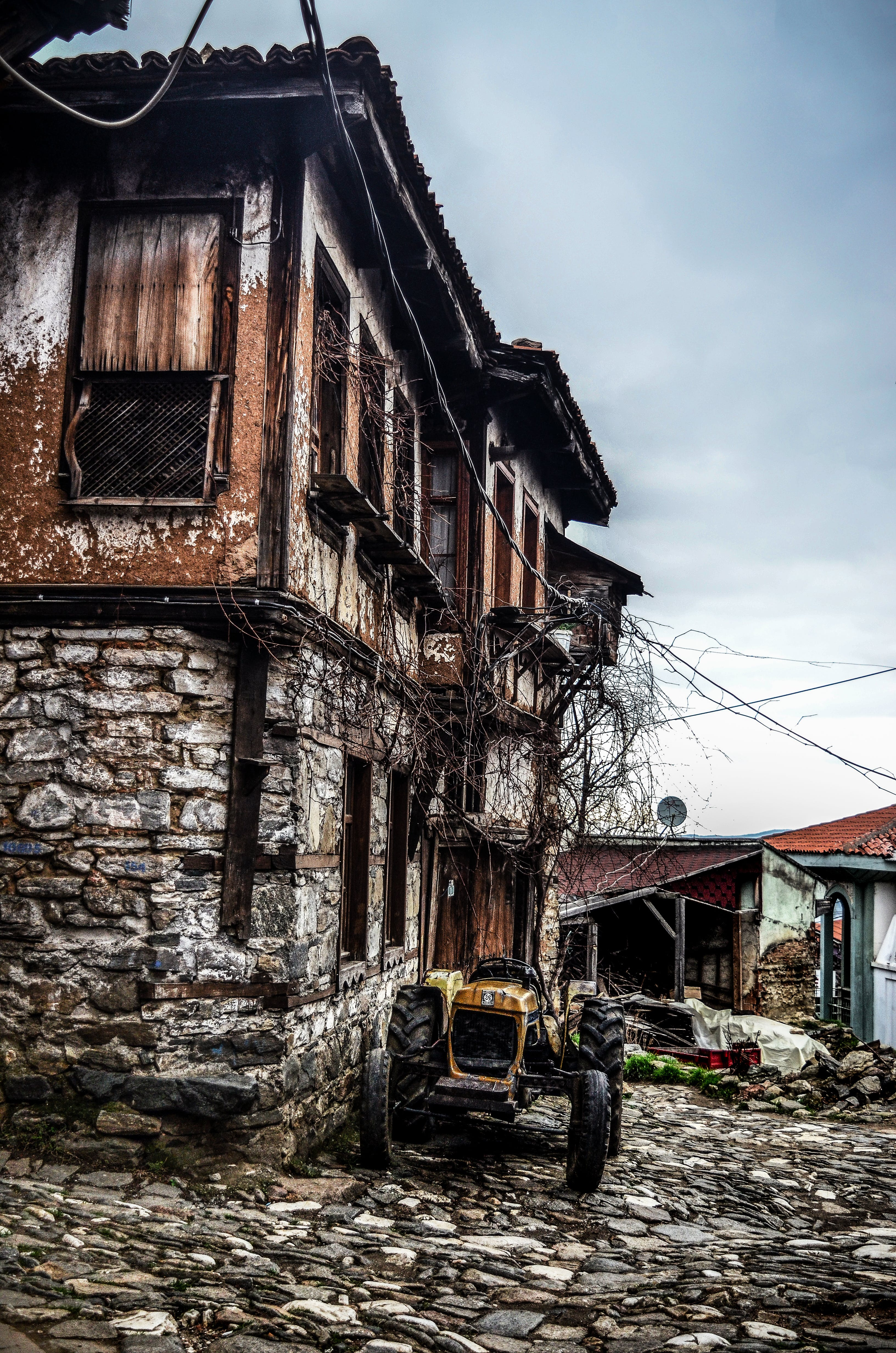 Free stock photo of #old #memory #home #color #photo #trace #street