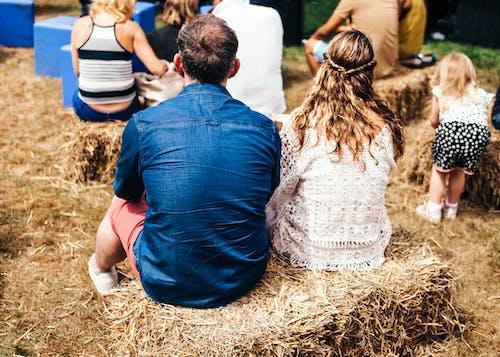 Gratis lagerfoto af Festival, folk, græs, halm