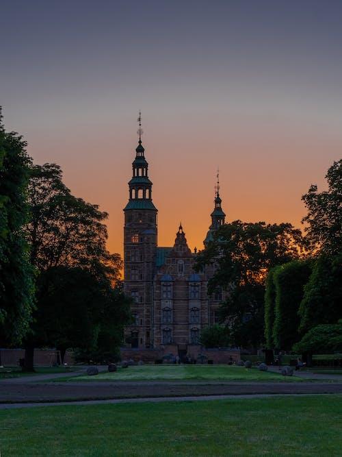 Δωρεάν στοκ φωτογραφιών με δύση του ηλίου, κάστρο, Κοπεγχάγη