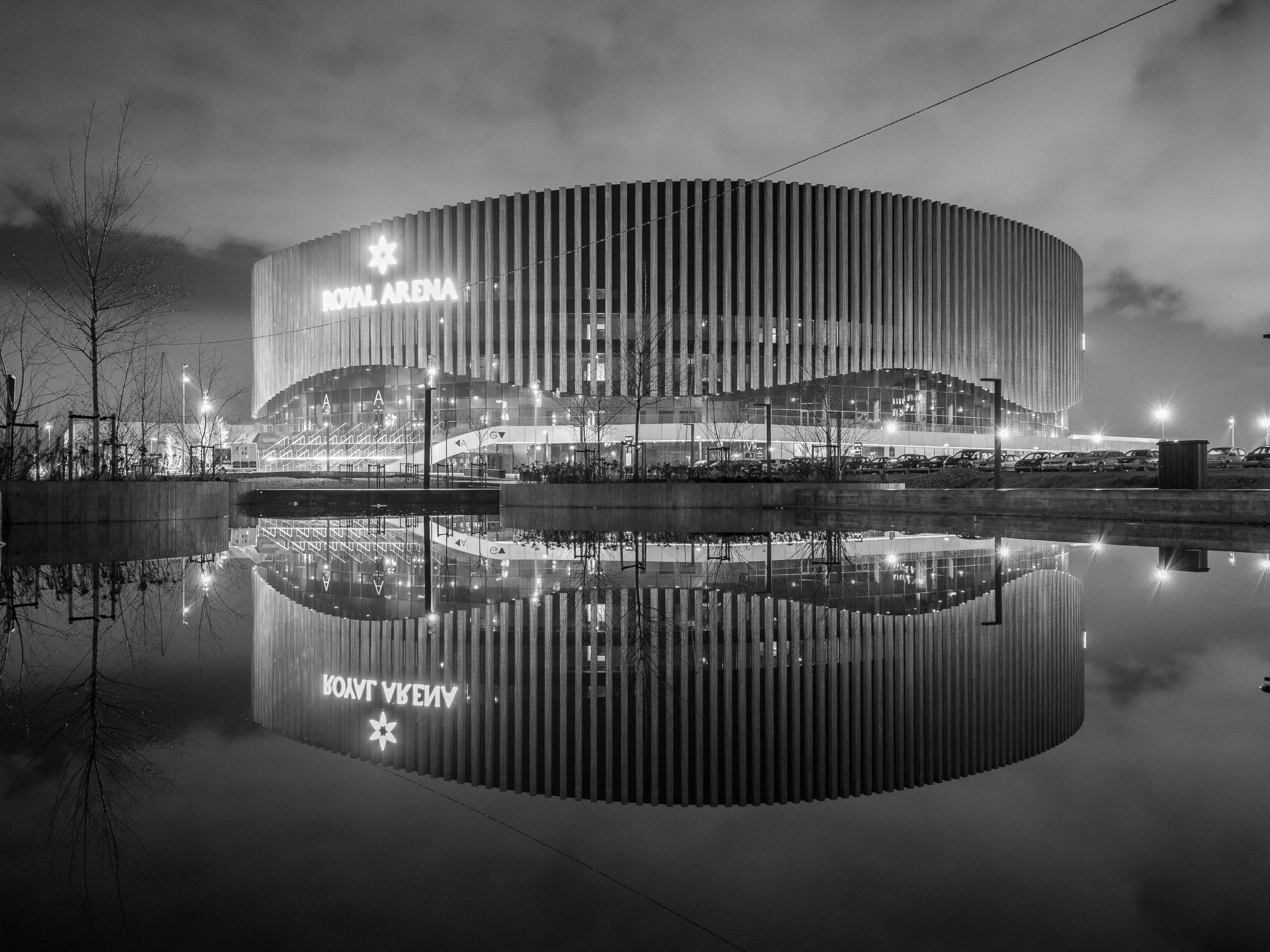 Free stock photo of architectural, architecture, copenhagen, reflection