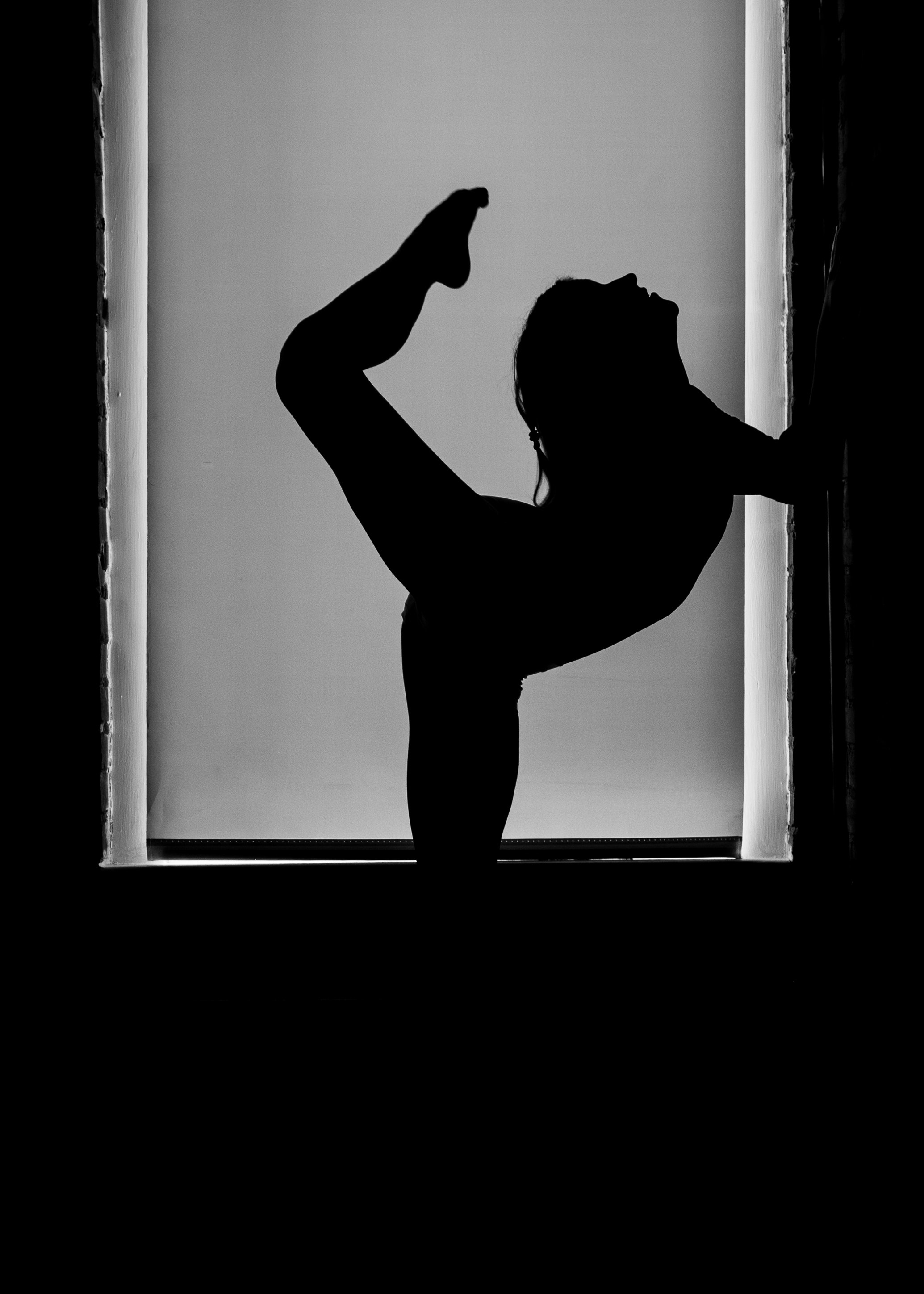 Free stock photo of dance, silhouette