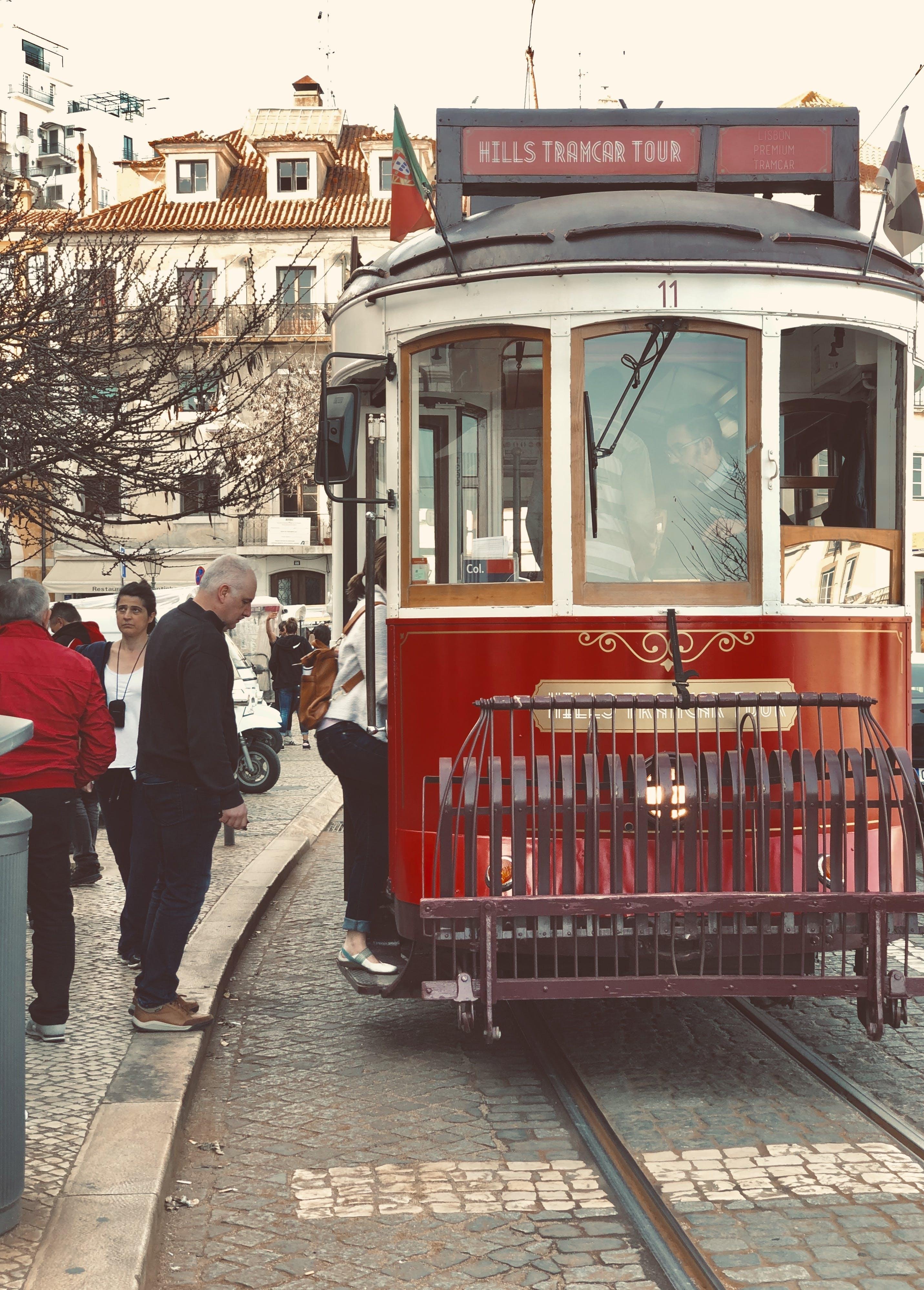 Free stock photo of #alfama, Lisbon, tram