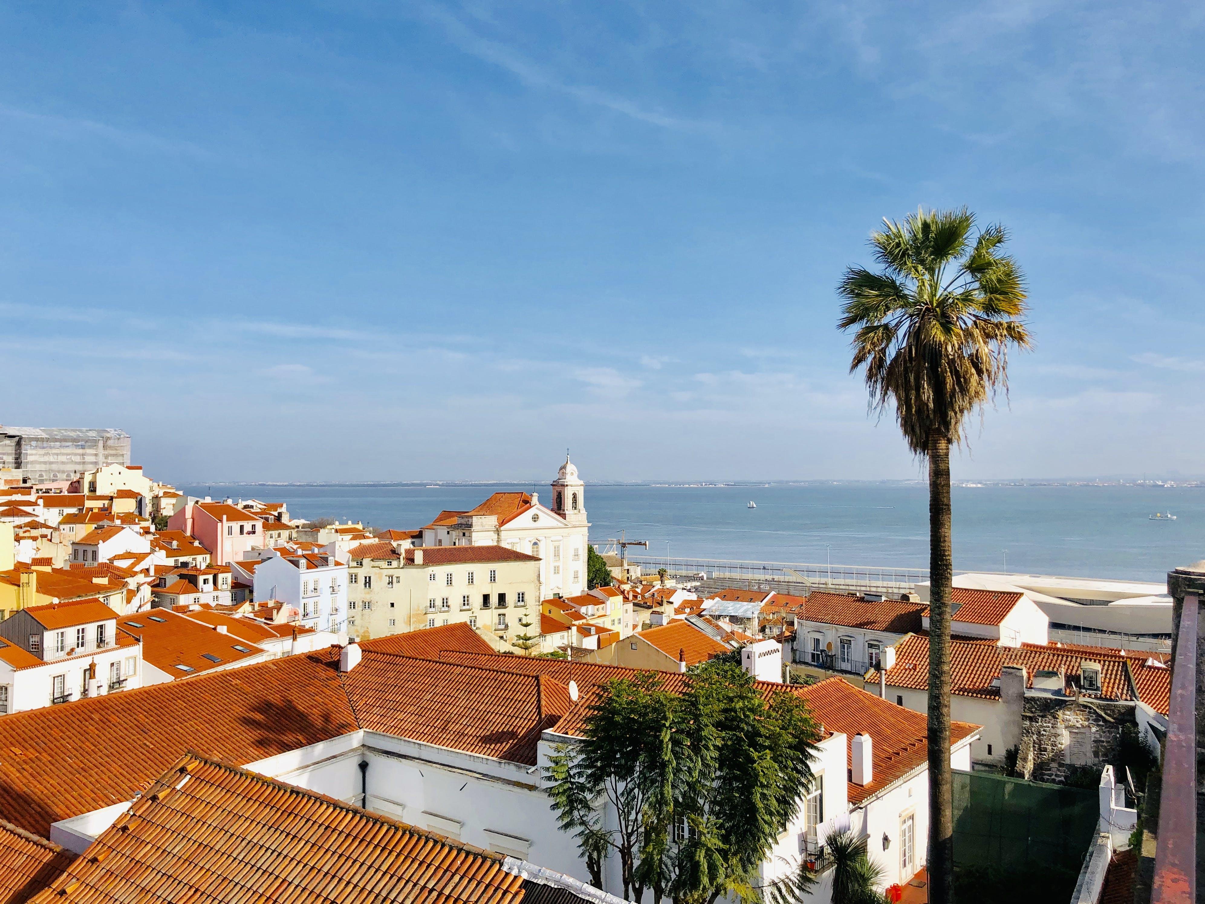 Free stock photo of alfama, Lisbon, tejo, winterinlisbon