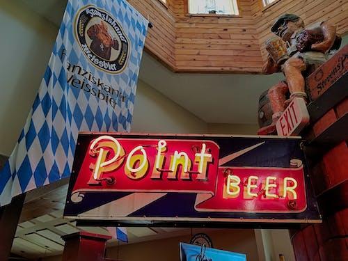Free stock photo of beer, neon, neon sign