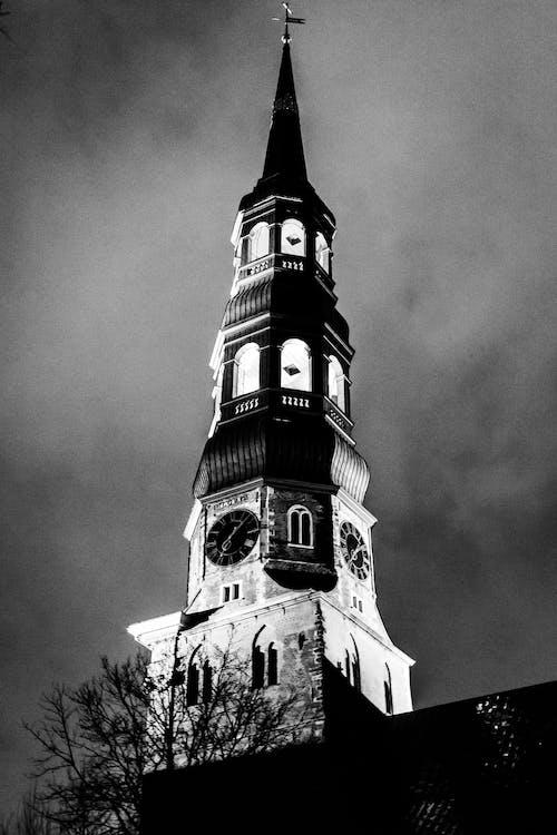 Kostenloses Stock Foto zu dramatisch, kirche