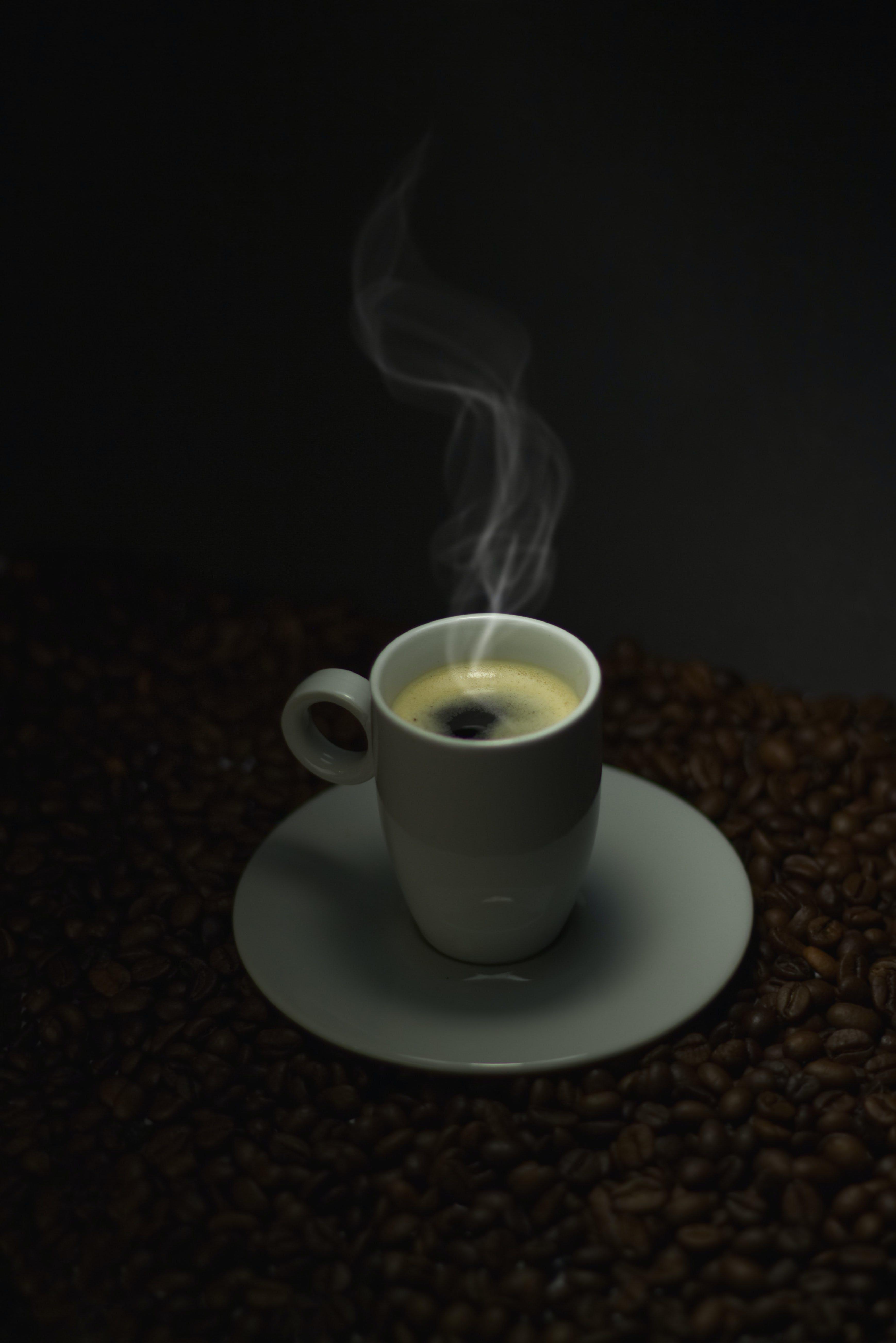 Free stock photo of black coffee, coffee, coffee beans, hot