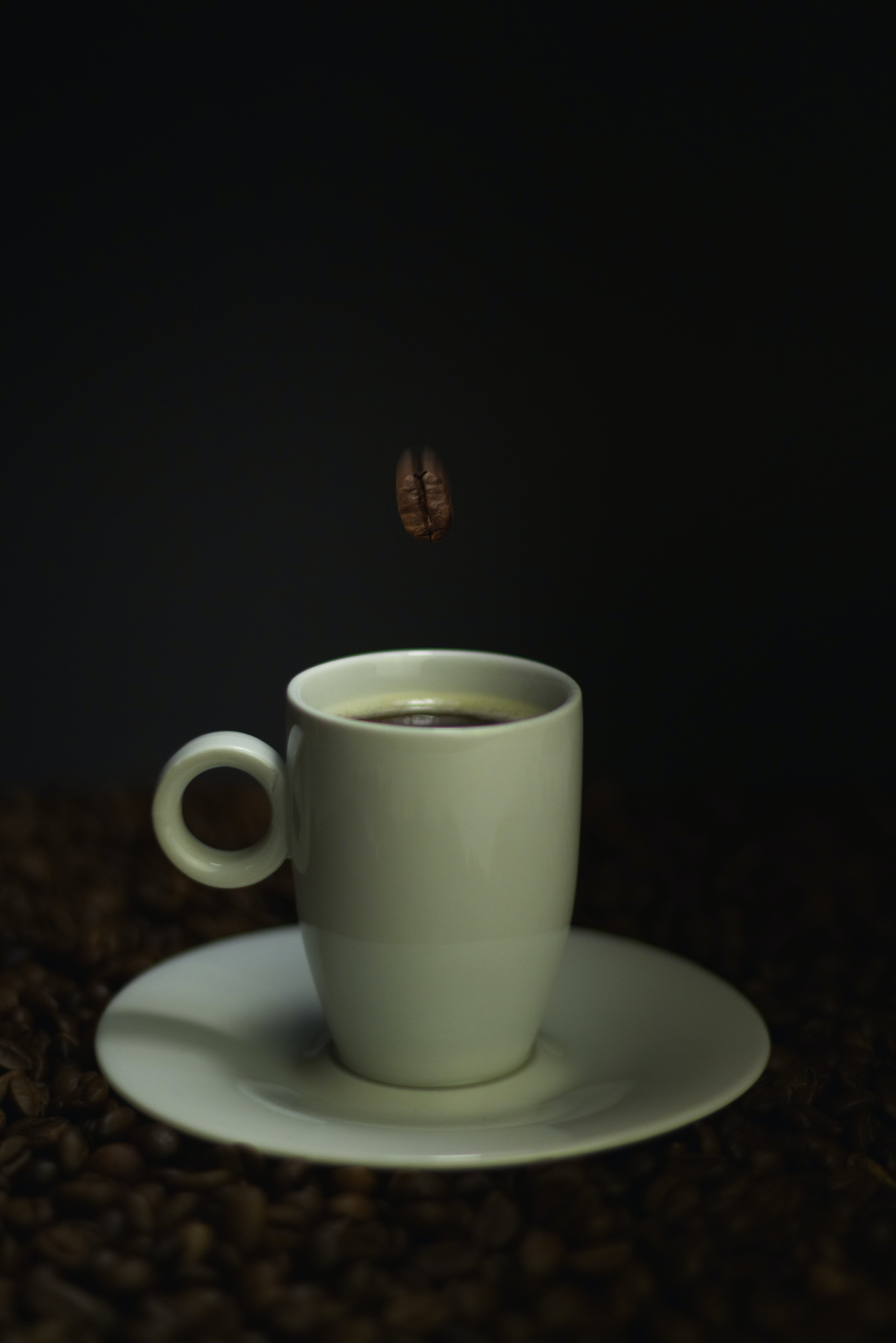 Free stock photo of coffee, coffee beans, coffee cup