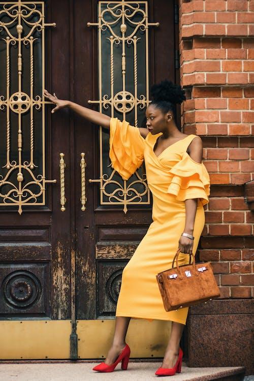 Photos gratuites de à la mode, femelle, femme, femme noire