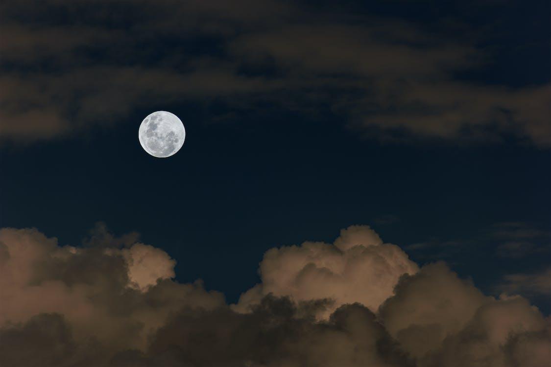 Free stock photo of full moon