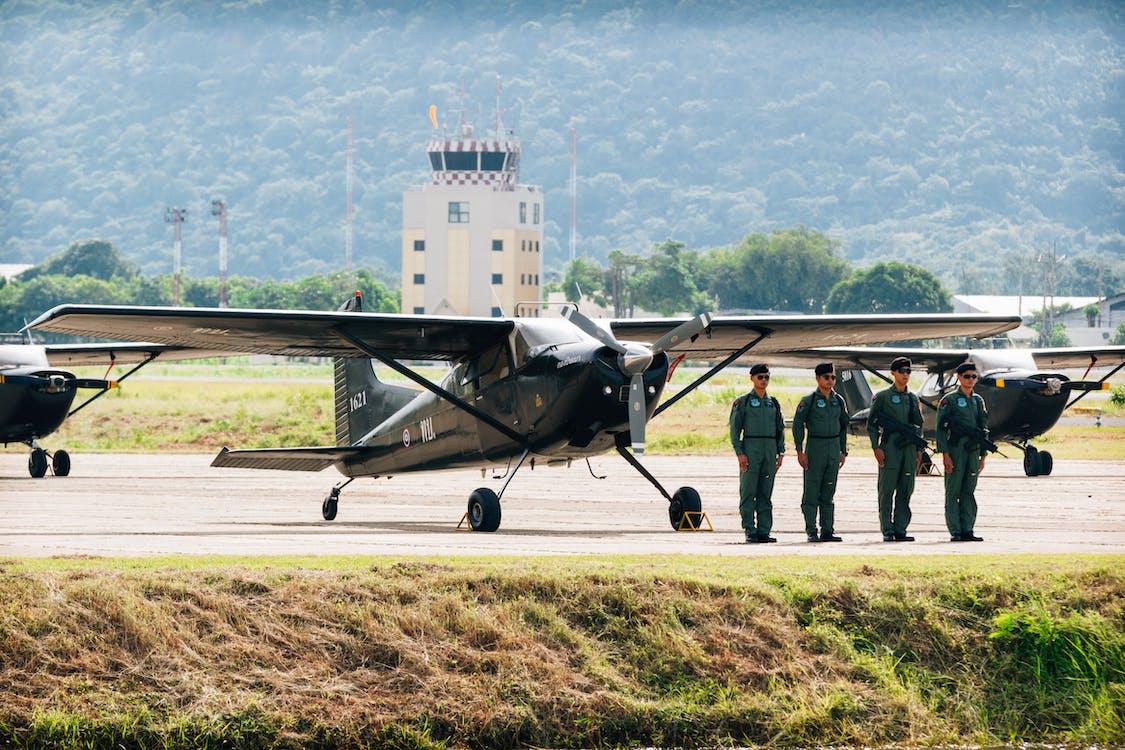 機師, 飛機, 飛行員