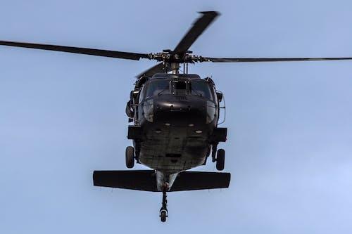 Бесплатное стоковое фото с пилот, транспорт, черный ястреб, эм-60
