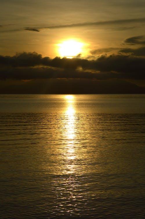 구름층, 오렌지, 일출, 태양의 무료 스톡 사진