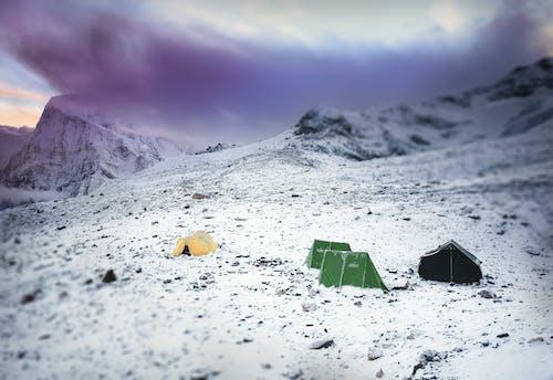 Photos gratuites de alpinisme, aventure, camp de base, dur