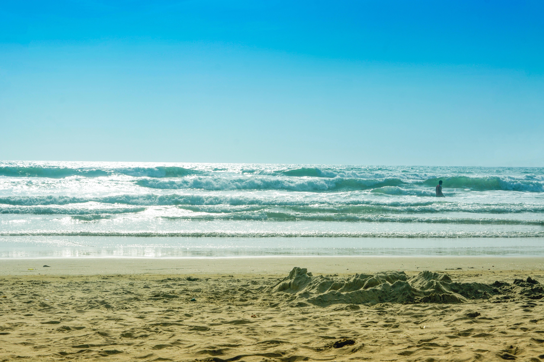 Free Stock Photo Of Beach Landscape Blue Sky Goa