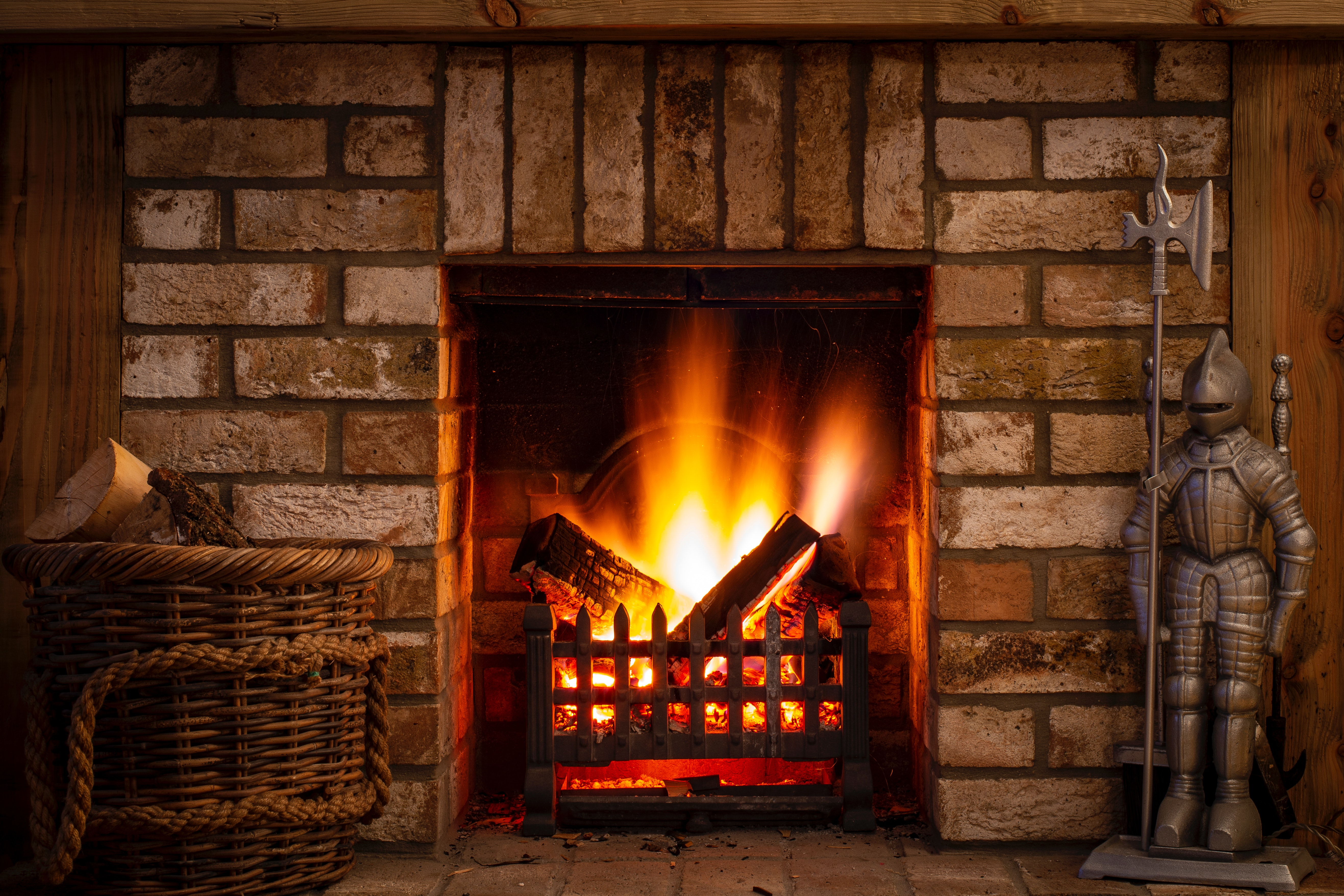 Free stock photo of fire, fire place, log fire