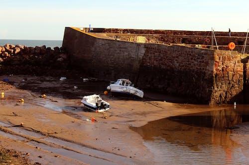 Gratis arkivbilde med båter, brun, lavvann, Nordsjøen