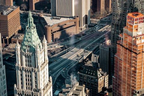 Kostenloses Stock Foto zu amerika, architektur, architekturdesign, autobahnen