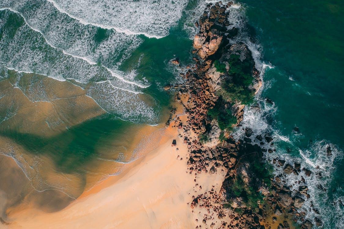 exteriéry, krajina, krajina pri mori