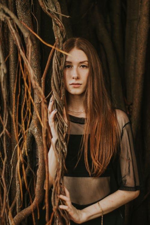 Základová fotografie zdarma na téma brunetka, dívání, fashion modelka, focení