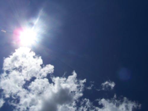 Free stock photo of blue, sky, sun