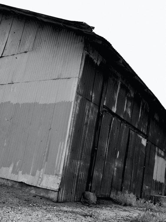 건물, 고민하는, 구조