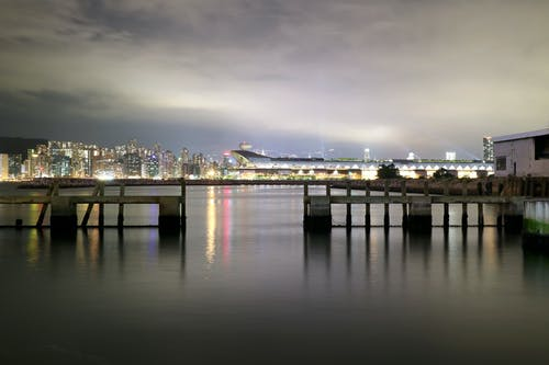Darmowe zdjęcie z galerii z miasto, miejski, molo, morze