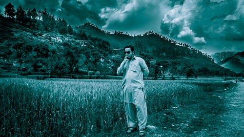 人, 景觀, 草 的 免費圖庫相片