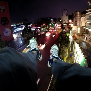 Free stock photo of fashion, night, street, photography